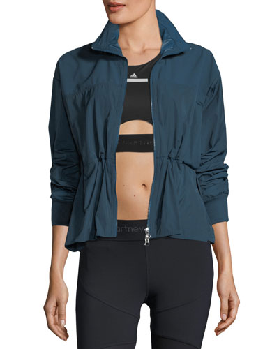 Essential Zip-Front Track Performance Jacket