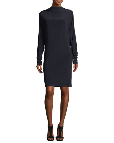 All in One Jersey Shift Cocktail Dress