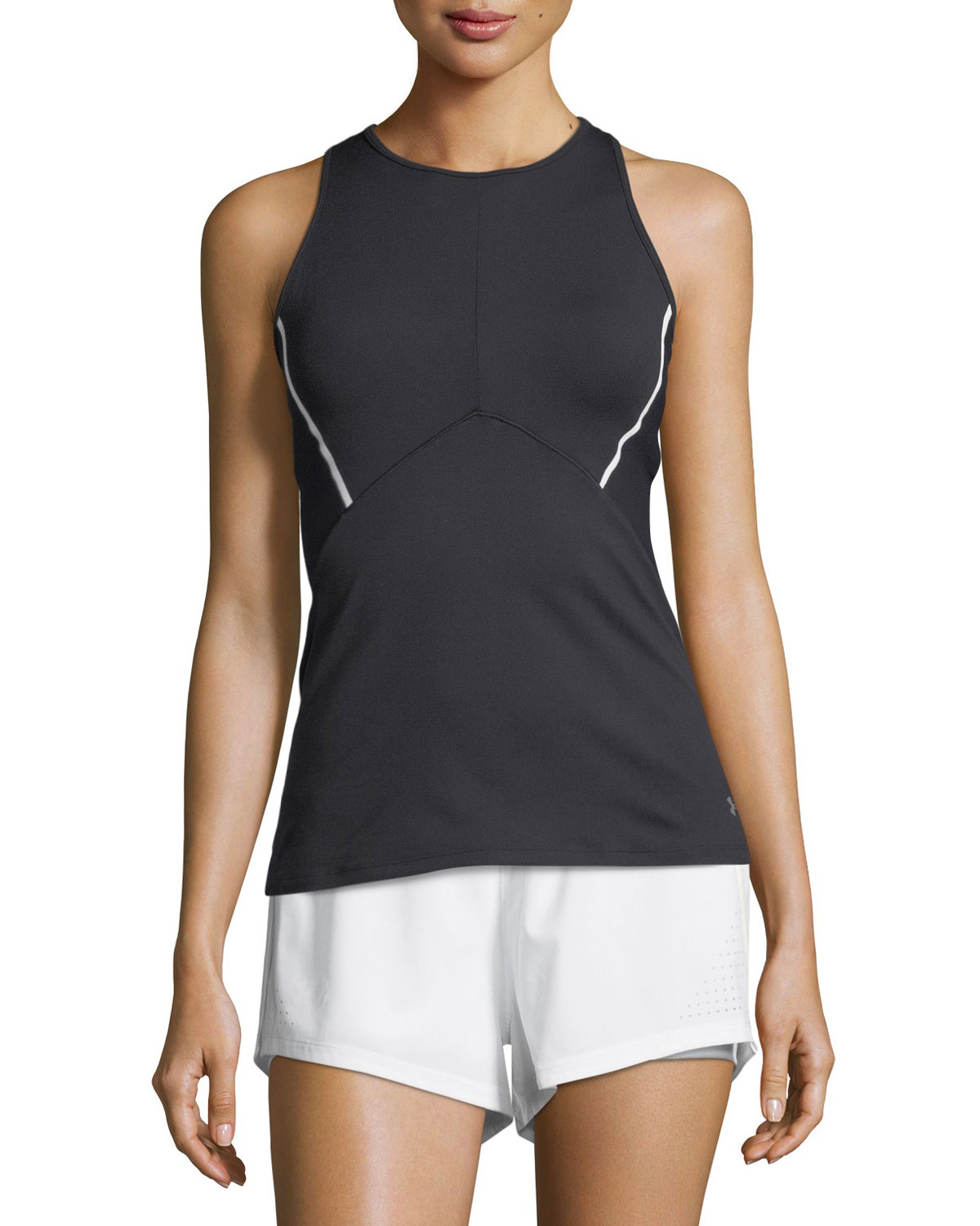 Under Armour Mirror Cross - Back Fitted Performance Tank Top