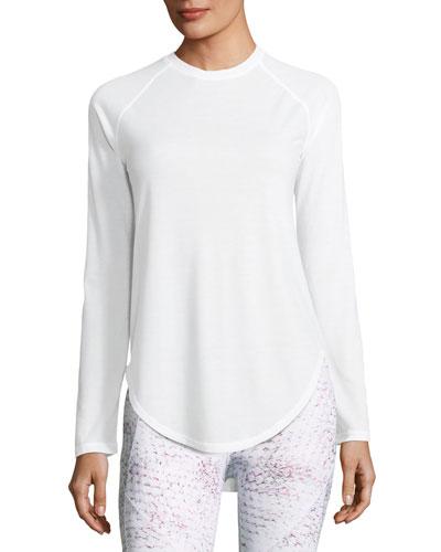 Breathe Open-Back Long-Sleeve Shirt