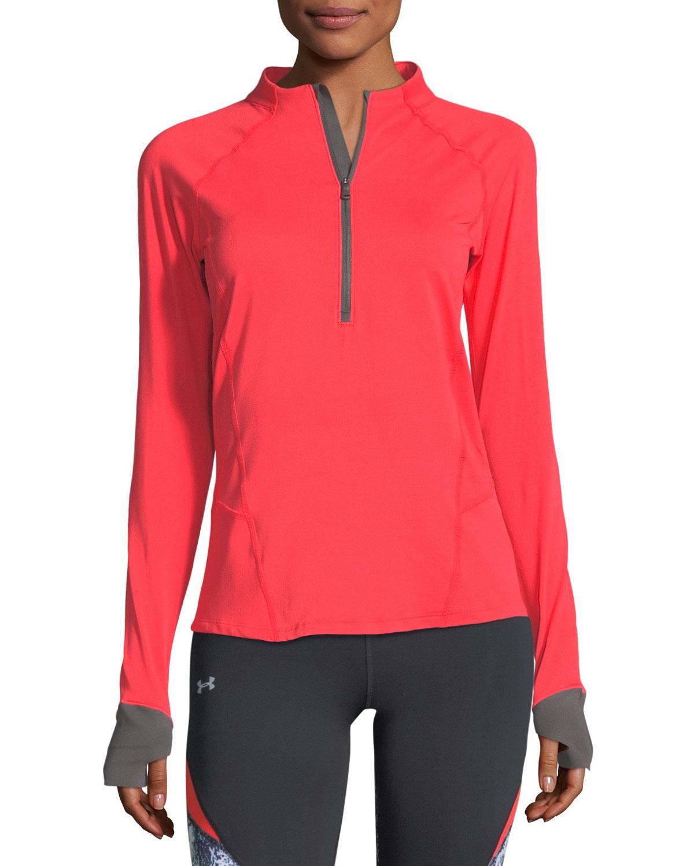 Under Armour Run True Half - Zip Long - Sleeve Pullover Shirt