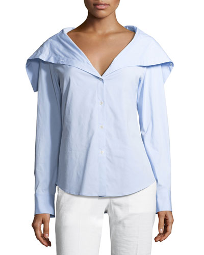 Doherty Wide-Collar Shirt