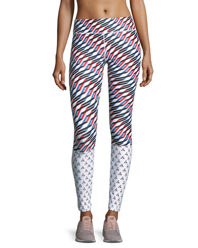 The Upside Mystic Keys Printed Yoga Pants