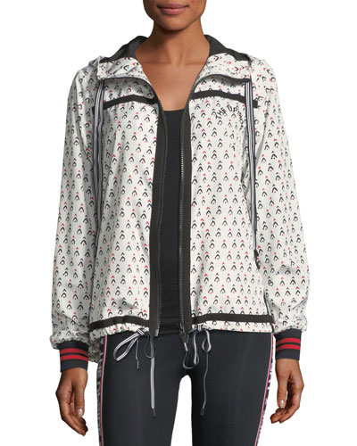 Witch Mountain Ash Printed Athletic Jacket