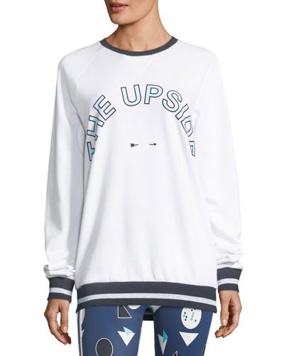 The Upside Match-Point Sid Crewneck Pullover Sweatshirt