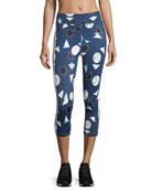 Match Point Power Pant Printed Performance Leggings