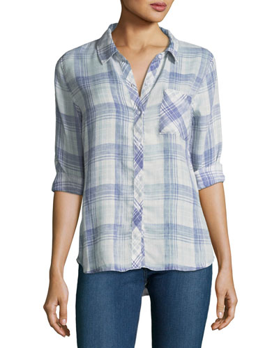 Hunter Plaid Pocket Shirt