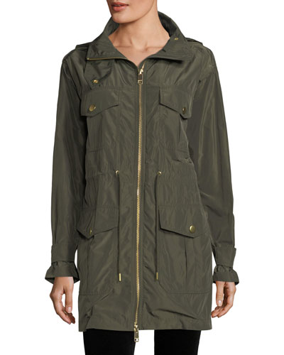 Memory Nylon Parka Jacket