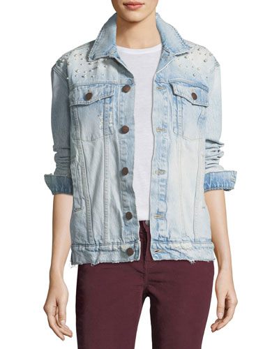 Boyfriend Trucker Denim Jacket