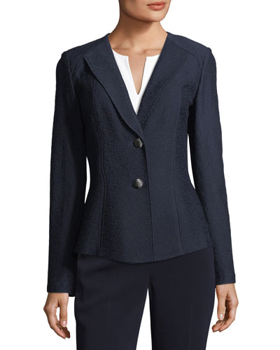 Hannah Knit Suiting Jacket