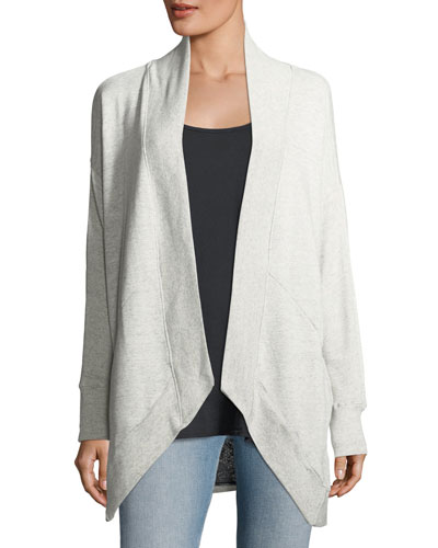 Open-Seamed Cardigan