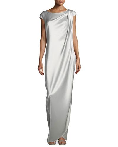 Liquid Satin Gown