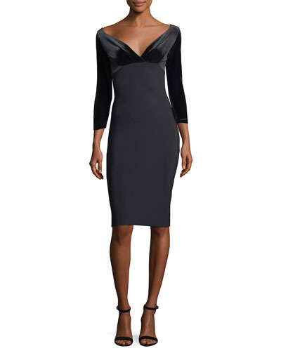 Ruth Off-the-ShoulderCocktail Dress