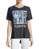 Reunion Photo Distressed Tee