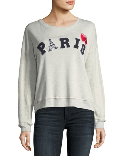 Kelli Paris Cotton Pullover Sweatshirt