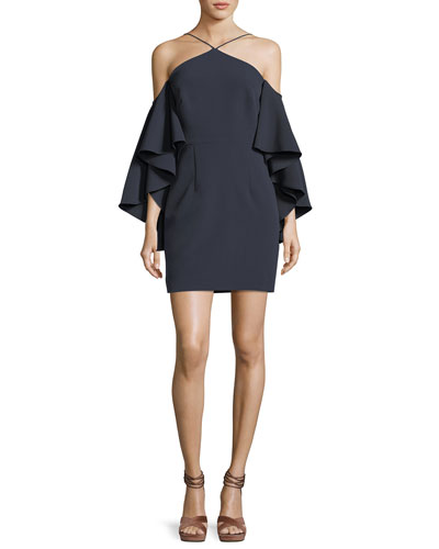 Chelsea Stretch Crepe Cocktail Dress