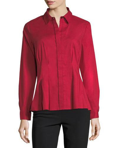 Classic Cotton-Blend Shirt