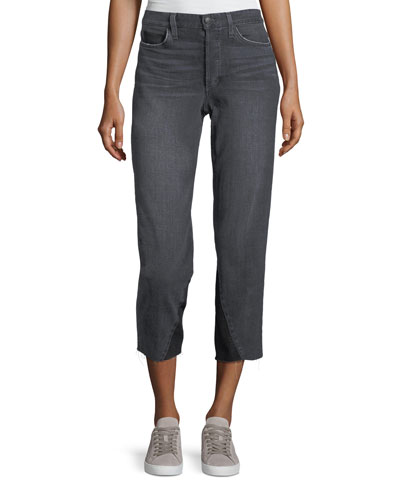 The Debbie Mid-Rise Crop Skinny Jeans