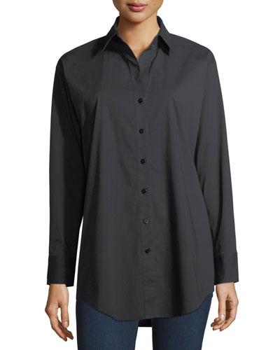Classic Poplin Oversized Shirt