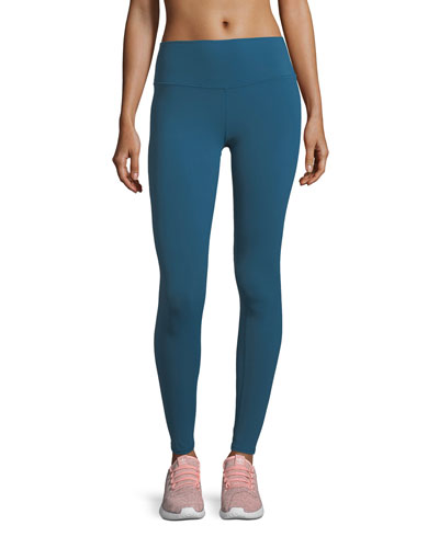 Dash High-Waist Performance Leggings w/ Mesh
