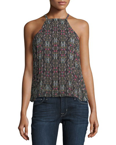 Kaleidoscope Chester Halter Top, Multi