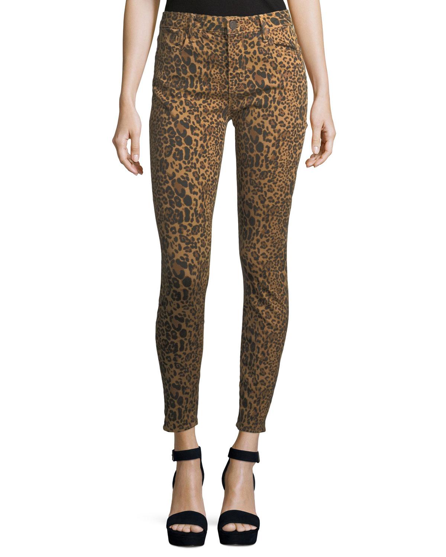 Ava Skinny Leopard Jeans