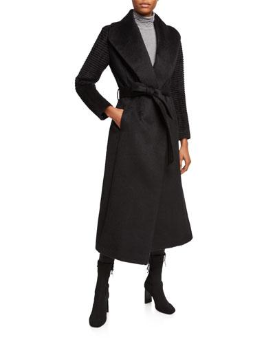 9723b39b57 Black Shawl Collar Coat | Neiman Marcus