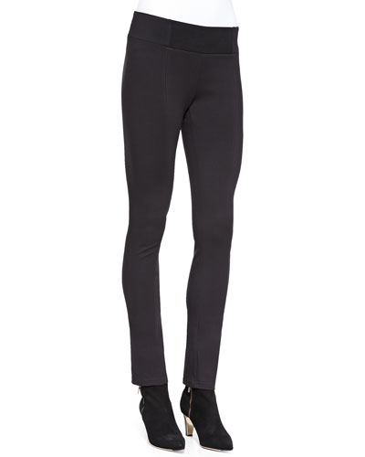Heavyweight Rayon Knit Skinny Pants