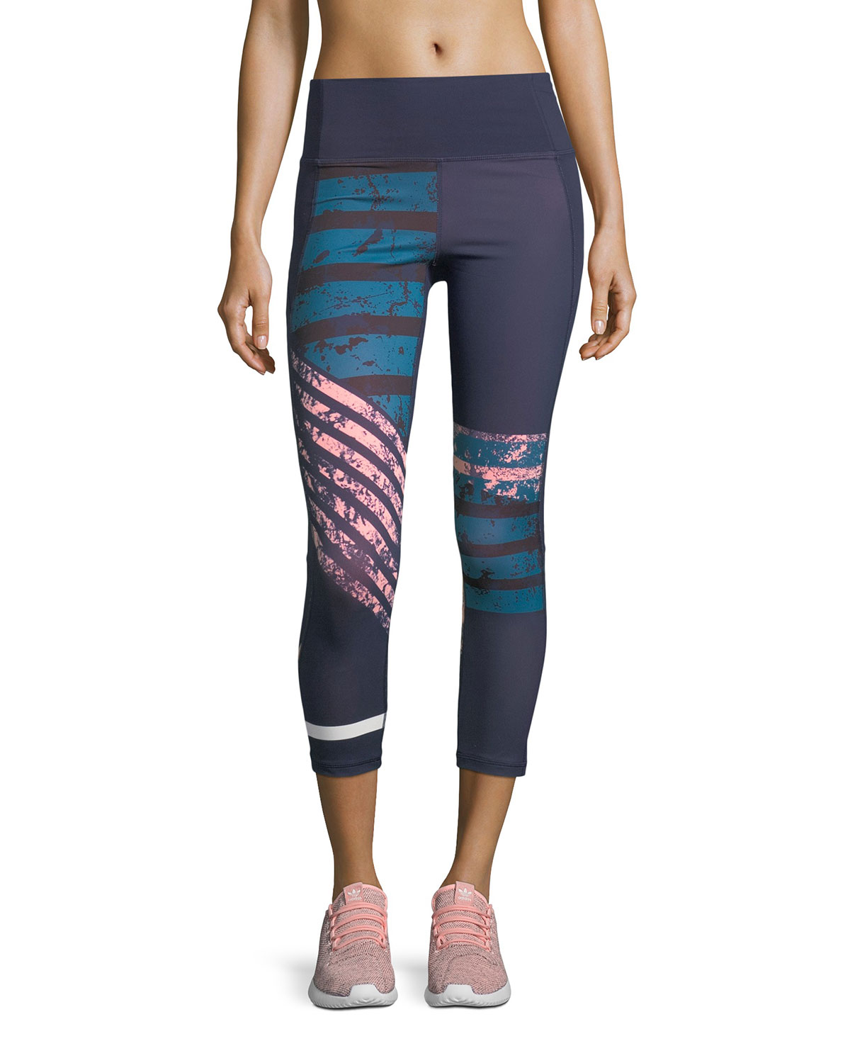 Under Armour Mirror High - Rise Printed Crop Performance Leggings