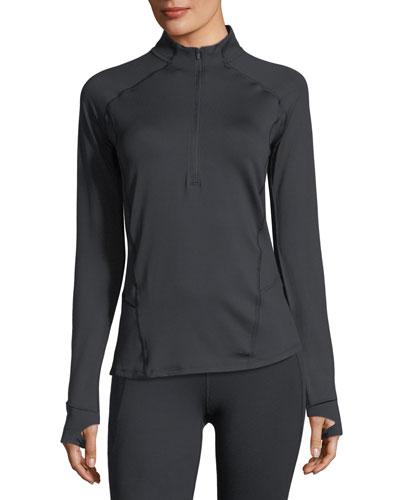 Run True Half-Zip Long-Sleeve Performance Top