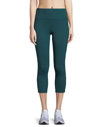 Under Armour Mirror Hi - Rise Crop Performance Leggings