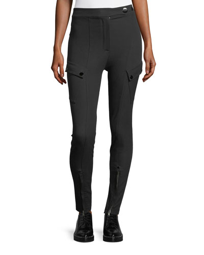 High-Waist Technical Leggings