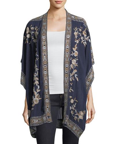 Kayo Kimono Jacket, Plus Size