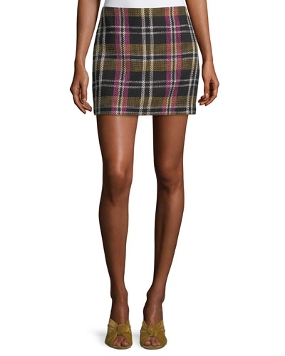 Rico Plaid Mini Skirt