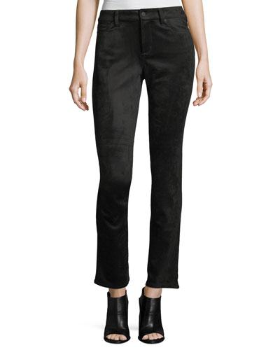 Sheri Faux-Suede Skinny Pants
