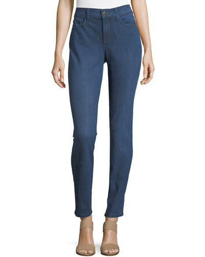 Alina High-Rise Denim Leggings
