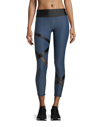 Atlas Band Cropped Performance Leggings
