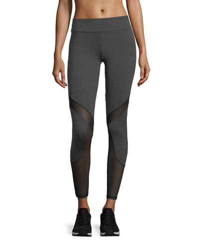 Jay Performance Leggings w/ Geo Mesh