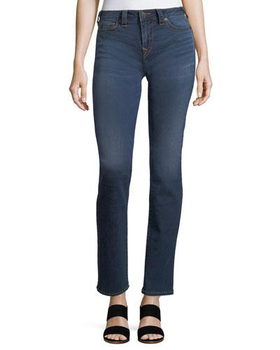 Billie Mid-Rise Straight-Leg Jeans