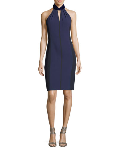 Braxton Halter-Neck Cocktail Dress