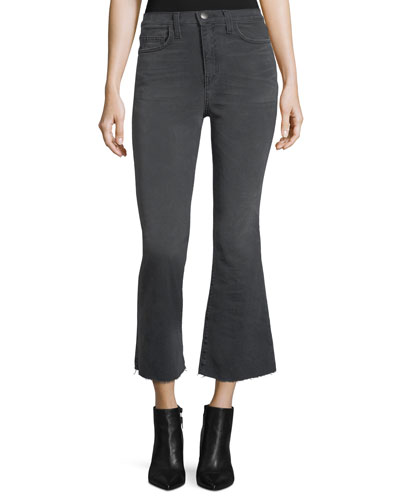 The High-Waist Flared Kick Jeans