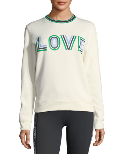 Tory Sport Love Graphic Sweatshirt