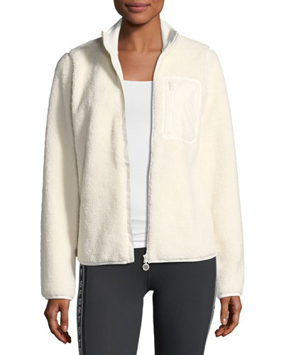 Sherpa Fleece Zip Jacket