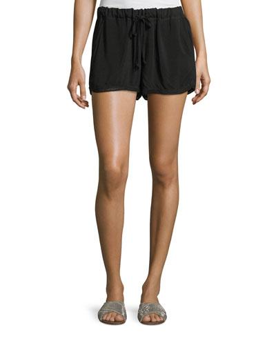 Drawstring-Waist Shorts