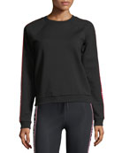 Star Bound Long-Sleeve Crewneck Sweatshirt