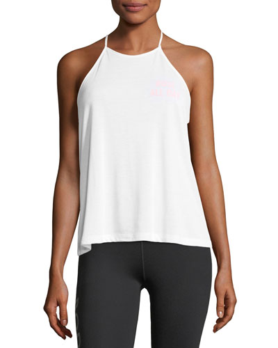 Rose All day High-Neck Tank