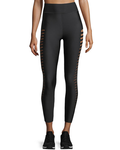 Ultra High Silky Slash Performance Leggings