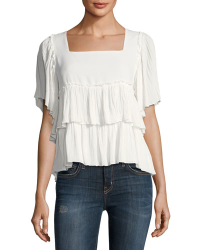 Short-Sleeve Layered Tee