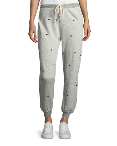 The Cropped Cotton-Blend Jogger Sweatpants