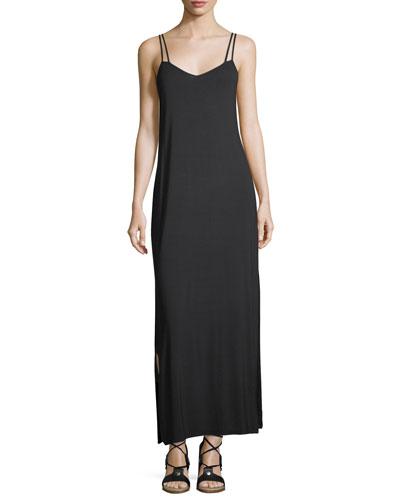 Peace Music Sleeveless Maxi Dress